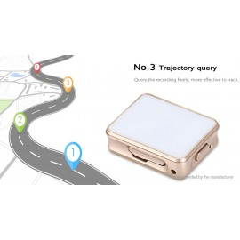 K8 Portable GPRS GPS Vibration Real-time Tracking Locator