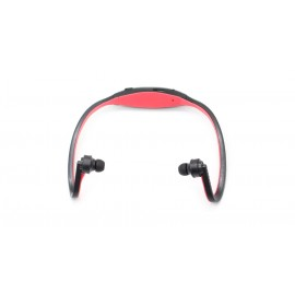 Sports USB Rechargeable MP3 Player Headset with microSD Card Slot