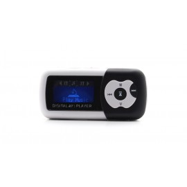"""1.1"""" OLED Screen MP3 Music Player with TF Card Slot / Speaker (Black)"""