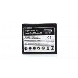 3.7V 1600mAh Replacement Battery for Google Nexus One / HTC Desire