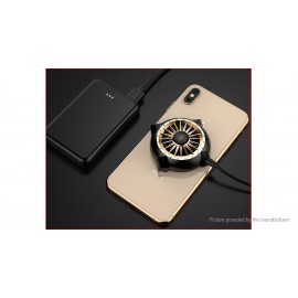 ROCK Mini Suction Cup Cooling Fan Cooler Radiator for Cell Phone